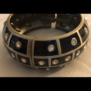Jewelry - Navy Silver & Diamonds Bracelet